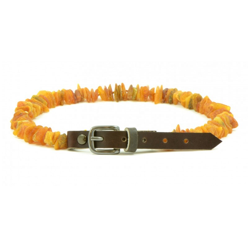 "Necklace anti-ticks Amber ""Ingrida"" 45/50cm"