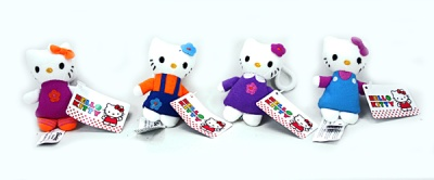 "keychains hello kitty ""9cm assorted colors&qu"