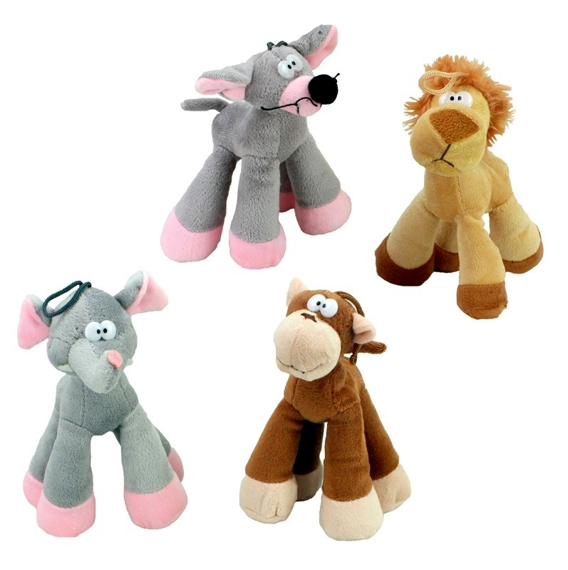 Plush assorted animals 17cm