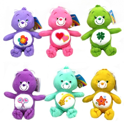 "plush care bears ""22cm assorted styles"""