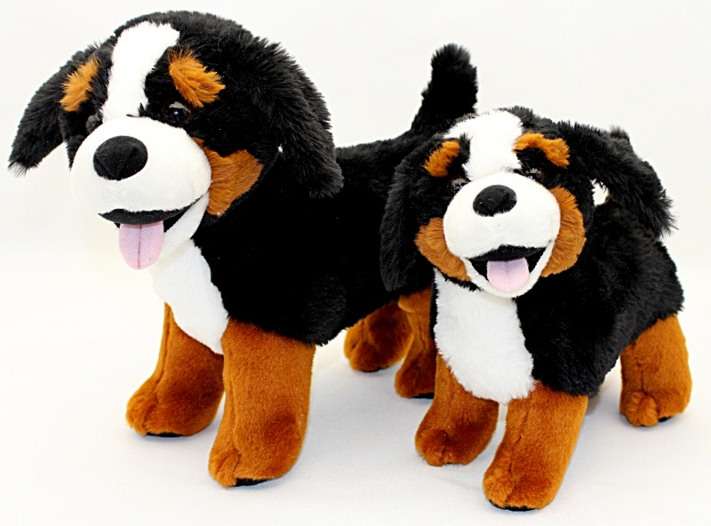 Plush Bernese Mountain Dog 31cm