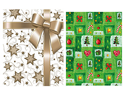 "Gift bag ""Xmas"" 45 x 33cm assorted models"