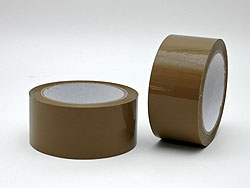 "Brown adhesive tape ""Premium"" 66m 28μ"
