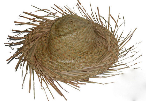 "Straw hat ""Creole"" natural T57"