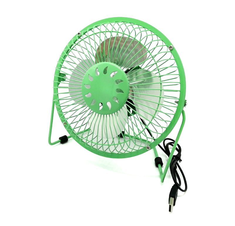 "Ventilateur de table USB ""Eole"" Ø 20cm coloris assortis"