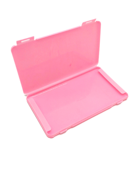 Storage case for protective masks 19cm pink
