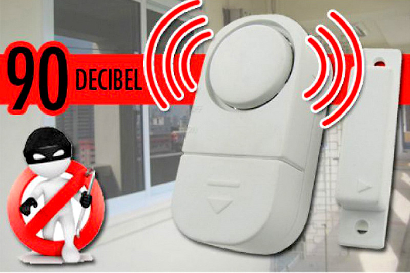 Mini alarm detection for doors and windows 90db