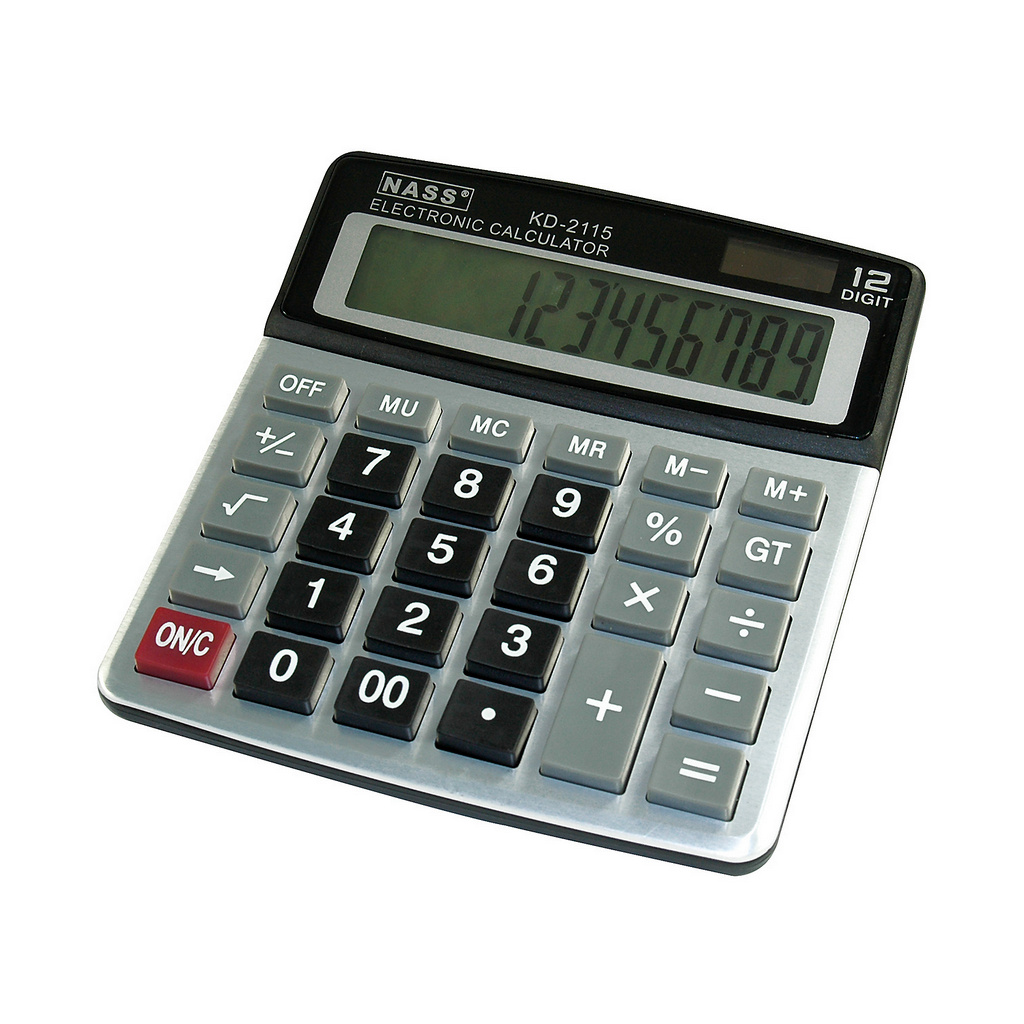 Solar Calculator KD2115 13cm