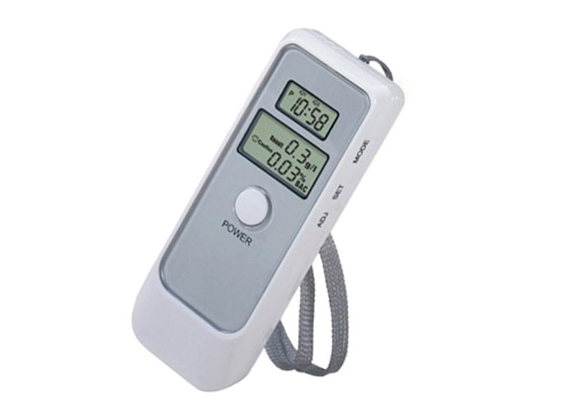 digital<br> breathalyzer with<br>lcd clock