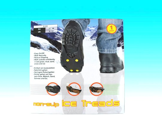 shoes ice cleats treads