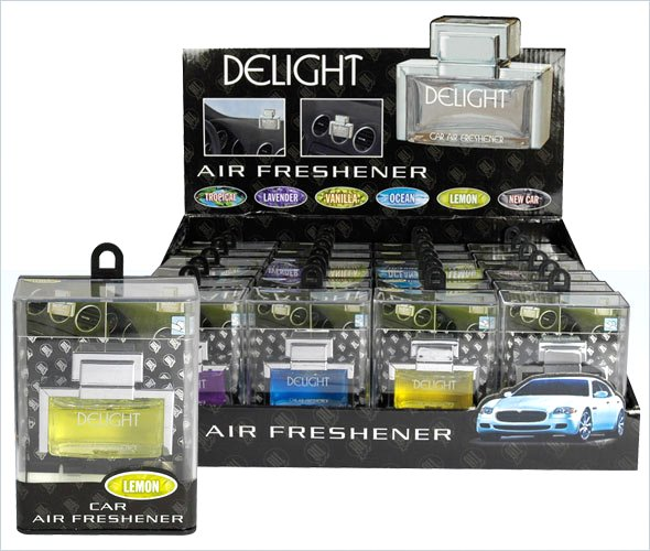 "car air freshener delight ""fragrances 10ml"