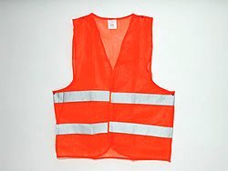 safety vest adult<br>size single orange