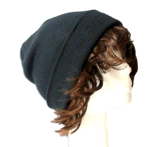 sailor cap unisex black