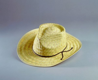"Hat ""Pensville"" natural straw size 57"