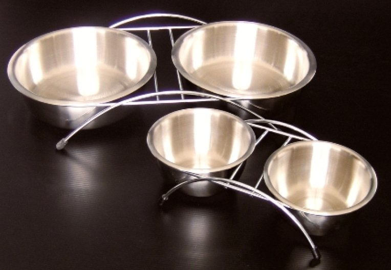 stainless steel bowl for dog and cat premium 12cm
